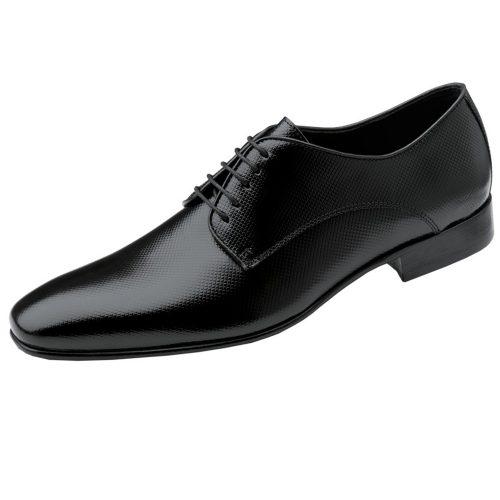 WILVORST fekete cipő 448313-10 Modell 0258