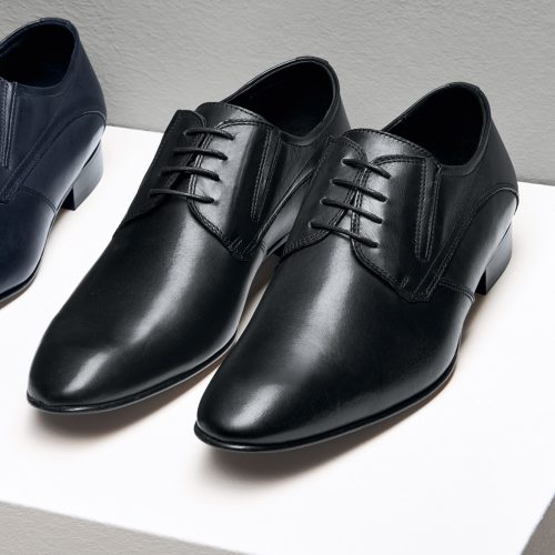 WILVORST fekete cipő 448318-10 Modell 0225