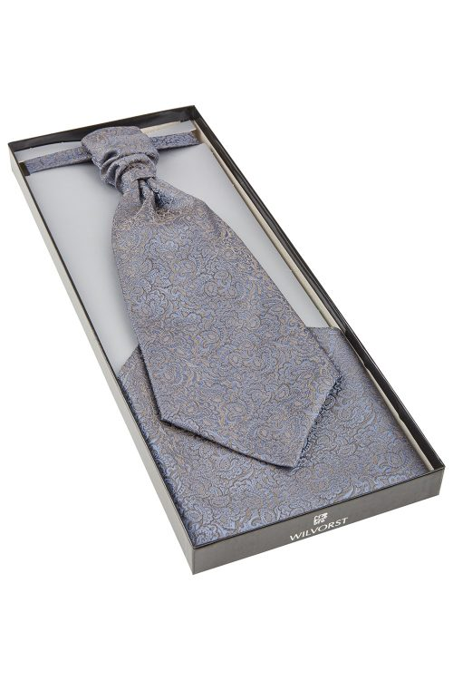 WILVORST francia nyakkendő díszdobozban 487121-36 Modell 0622