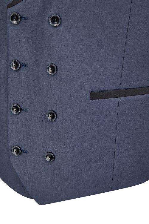 WILVORST kék szmoking mellény részletek 441200-35 Modell 10
