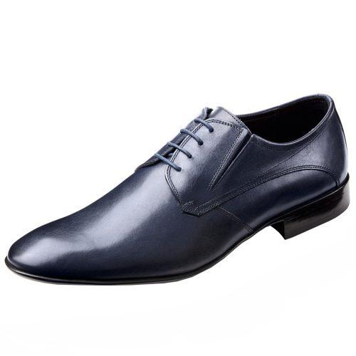 WILVORST sötétkék bőr cipő 448318-30 Modell 0225