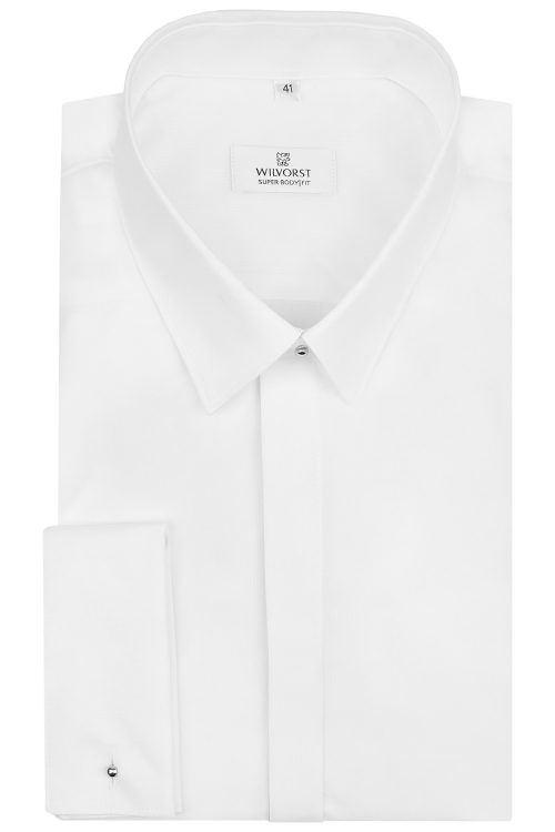 WILVORST super body fit fehér ing 470035-90 Modell 0306